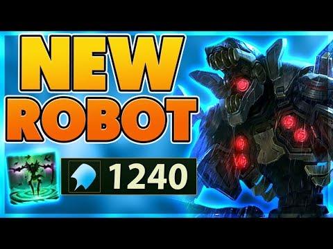 *NEW* 1200+ AP!! ROBOT SKIN SPOTLIGHT (INSANE DAMAGE) - BunnyFuFuu