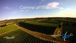 Image In Air .fr Berrias et Casteljau vol au dessus des vignes et cultures