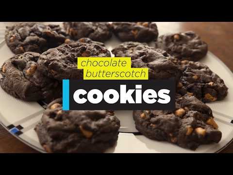 Swede Dish Chef - Chocolate Butterscotch Cookies