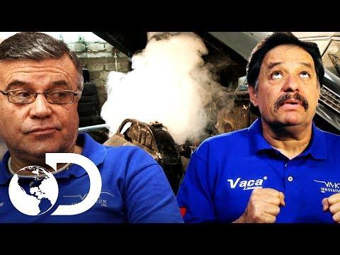 Mala suerte en el taller de Mexicánicos | Mexicánicos | Discovery Latinoamérica