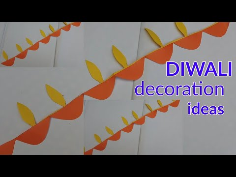 DIWALI Diya decoration crafts ideas ,paper diya homemade decoration ideas,paper art and crafts