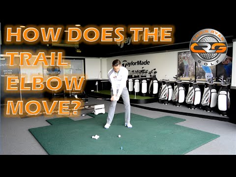 GOLF | HOW SHOULD THE TRAIL ELBOW MOVE?