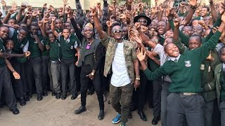 "Watch Sauti Sol perform ""Kuliko Jana"" Acapella with Upper Hill Students"