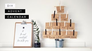 DIY Advent Calendar  | Christmas Gift Ideas