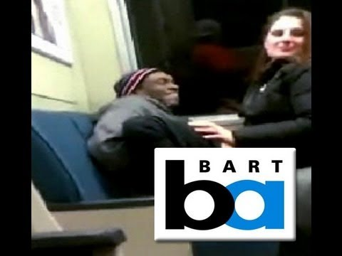 Taking a 'ride' on the train: Bay Area couple shoot amateur footage of them getting freaky