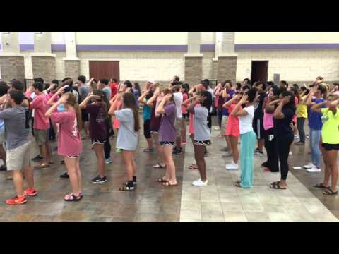 2015 - Ridge Point High School (TX) - Kick-Off Program Dance Mash-Up - Full Version