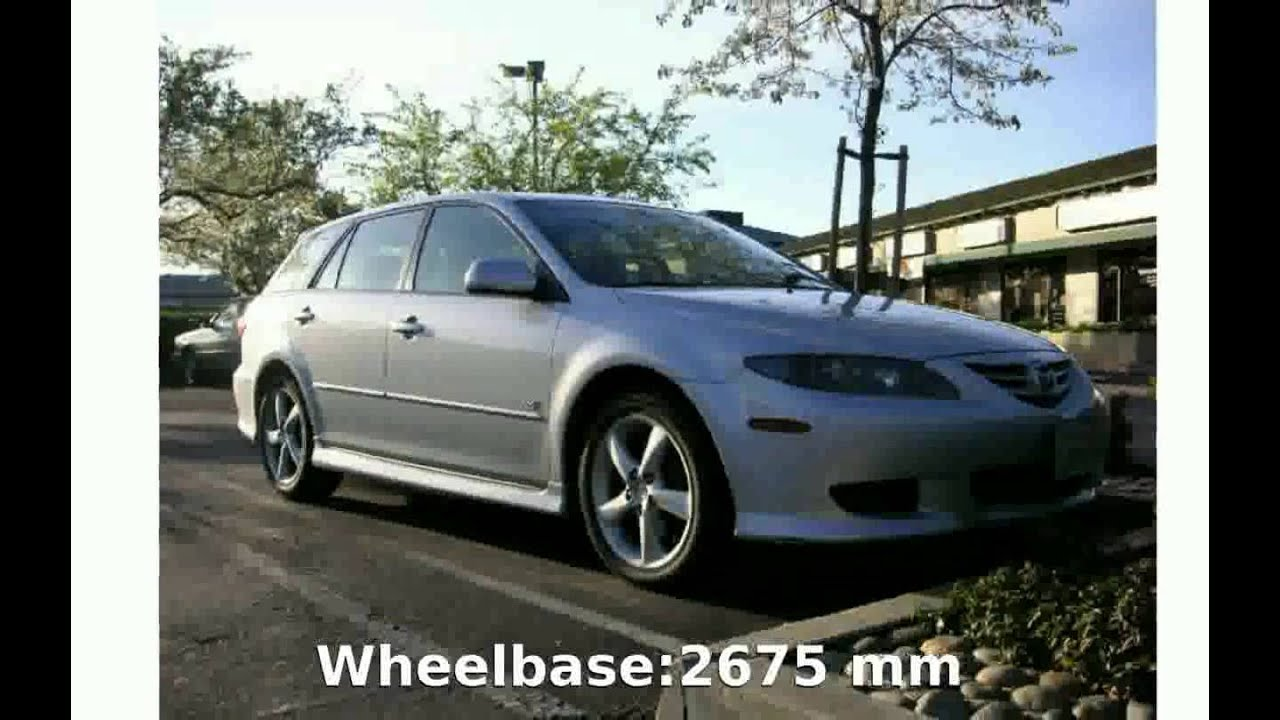 2004 mazda 6 sport wagon v6 specification features irozona youtube. Black Bedroom Furniture Sets. Home Design Ideas