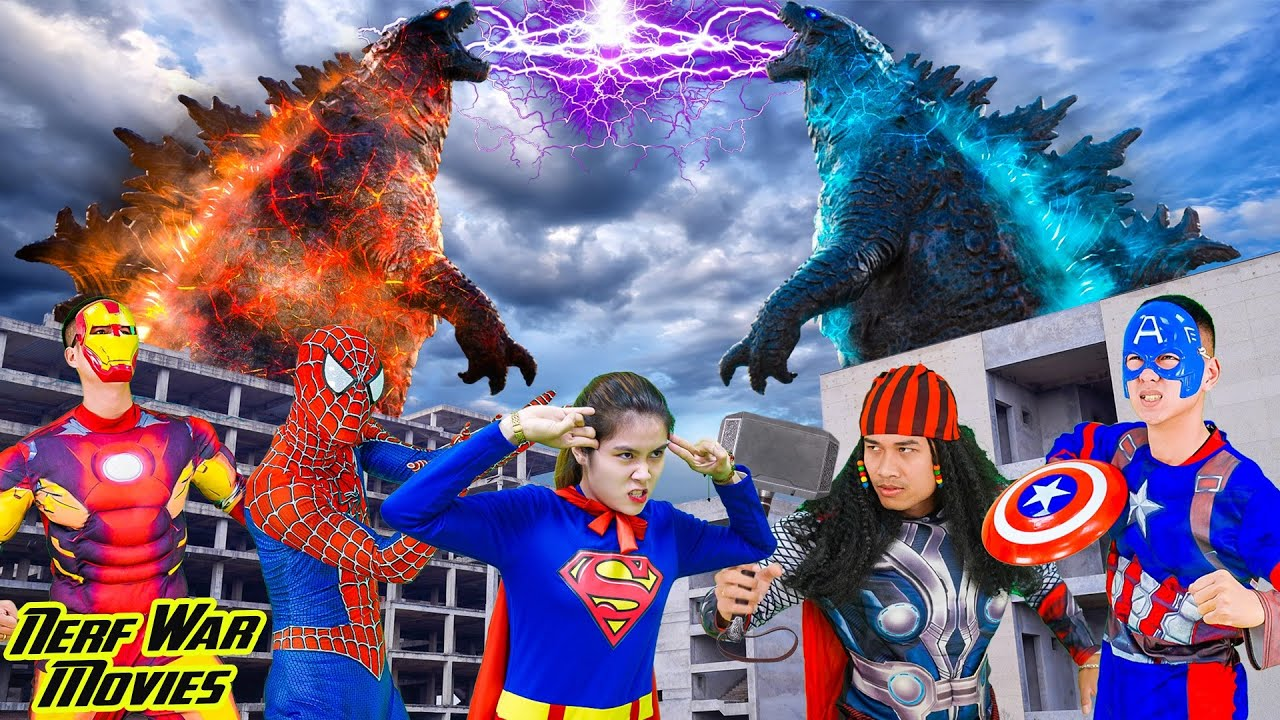 Nerf War Movies: HULK X Warriors Nerf Guns Fight Criminal Group Destroy Monster Rescue Friend
