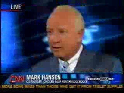 """Mark Victor Hansen - CNN - Self Help """"Scam"""" Debate"""