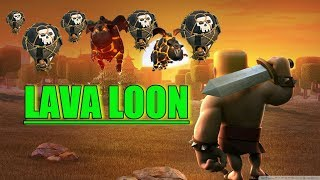 Lava Loon Attack Strategy  Specially For TH9 !