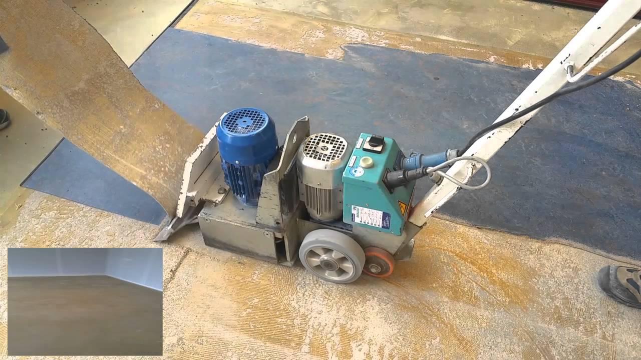 Marmoleum verwijderen vloerverwijdering wolter youtube