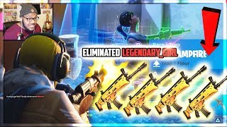 LEGENDARY DROPS! EPIC FIRST TIME playing FORTNITE BATTLE ROYALE