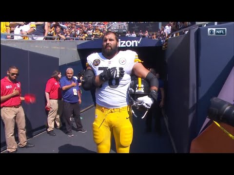 NFL Player And Army Vet Alejandro Villanueva Stood Alone During National Anthem