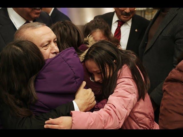 Cumhurbaşkanı Erdoğan, Ordu'da Vatandaşlarla Buluştu