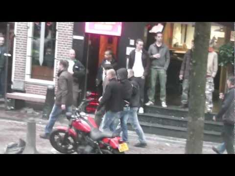 police arrested hooligans before  the  champions  league duel  ajax -manchester city  3-1  (2012)