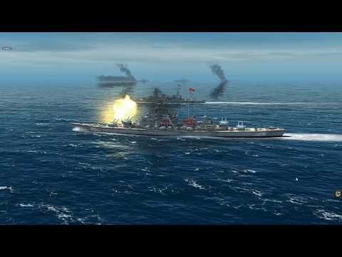 Six British Battleships Vs Six German Battleships On Atlantic Fleet