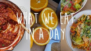 One of cam & nina's most viewed videos: What I Eat In A Day | Cheap & Healthy | Baked Beans