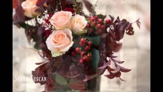 букет в цвете марсала подборка