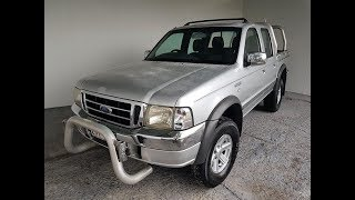 Automatic Dual Cab Ute 4×2 Ford Courier 2005 Review For Sale
