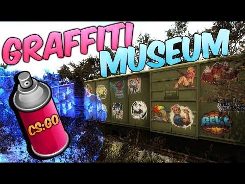 CS:GO GRAFFITI MUSEUM ! NEW WORKSHOP MAP !