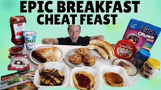 BREAKFAST LOVERS CHEAT FEAST | PANCAKES PASTRIES CAKES CHOCOLATE BARS