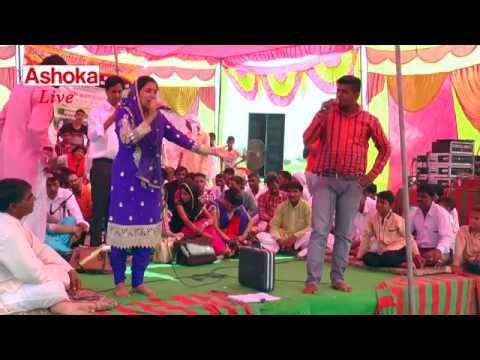 Latest Ragni  Pareety Choudhary & Sanjay Patel II Na Ghuse Chidiya Tak Mahal Me II Ragni Compitition