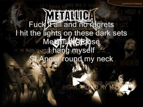 Metallica St Anger(lyrics)