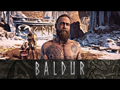 God of War - The Story of Baldur // All Scenes