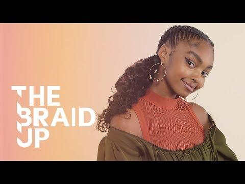 Spiral Stitch Braids - The Braid Up | Episode 18 | Cosmopolitan