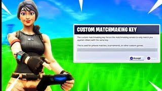 Live fortnite custom matchmaking/mod giveaway bij 350subs