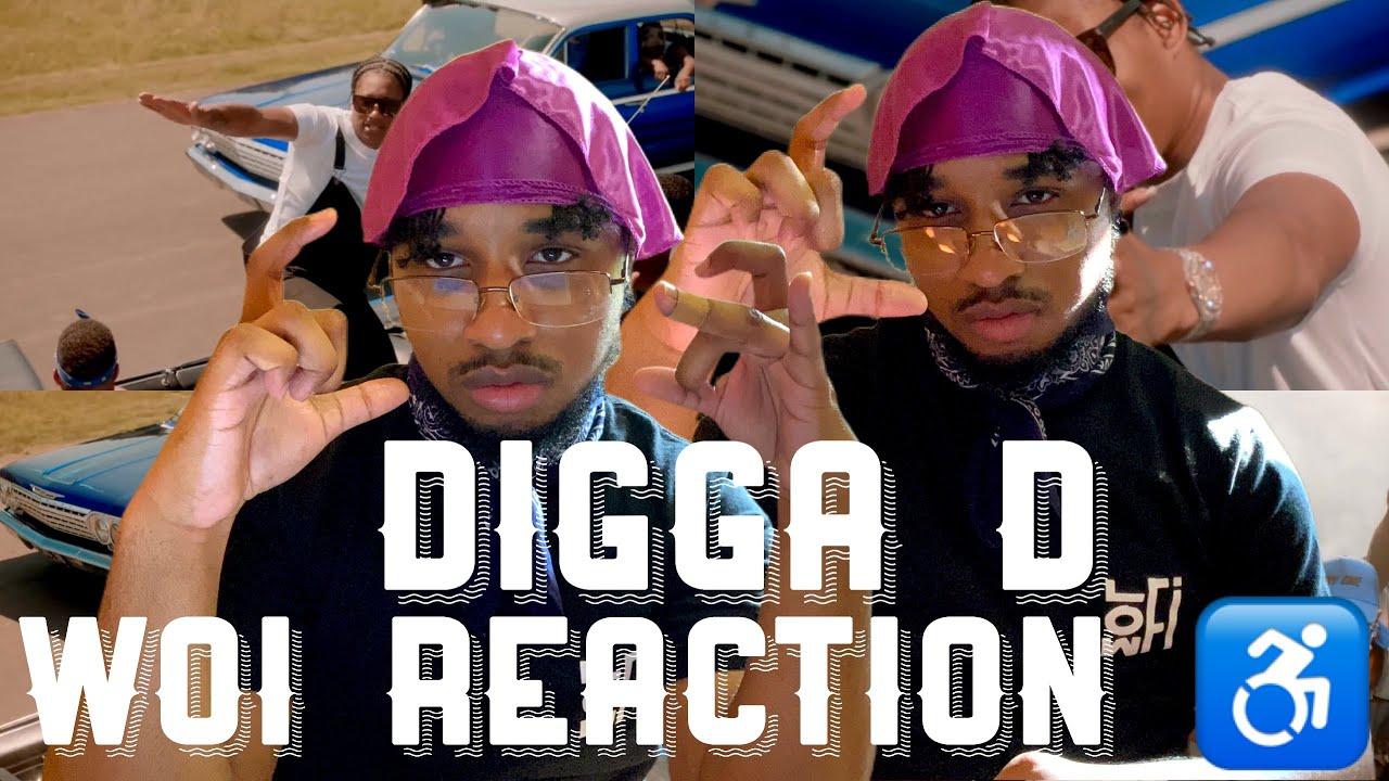 Download BROOKLYN CRIP REACTS TO Digga D - Woi (Official Video)   Crooklyn Reaction ♿️