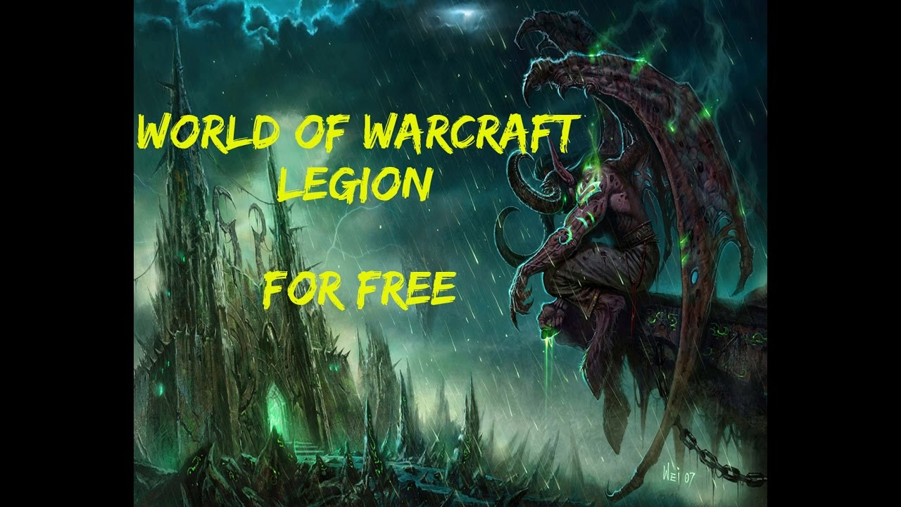 How to Download and play WoW : Legion ( Private Server Valhalla [Server is  Closed] )