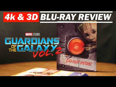 Guardians Of The Galaxy Vol.2 4K and 3D Bluray Review
