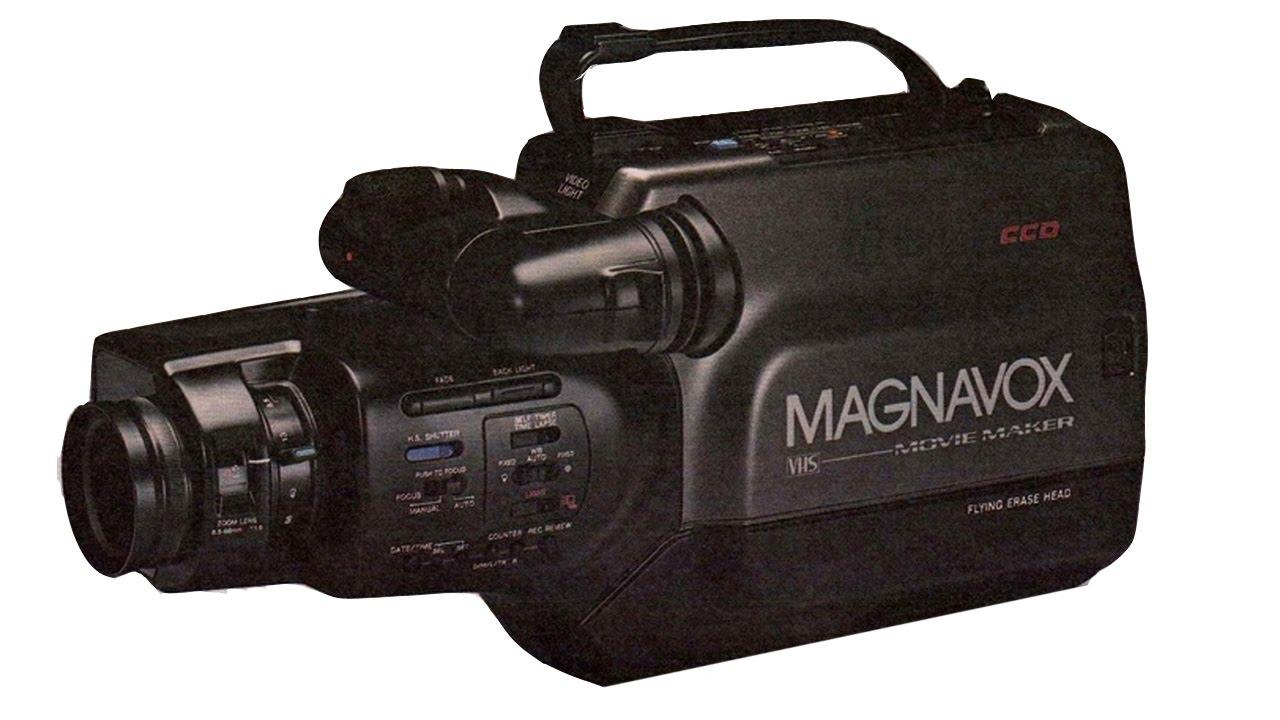HQ Magnavox Movie Maker Camcorder tracking playback capture VHS