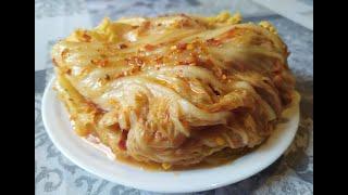 Кимчи из пекинской капусты, зимний вариант.