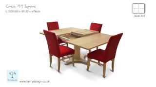 Circa 11 Square dining table