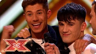 Double whammy elimination: Goodbye Sam Black and Sean & Conor Price | Live Shows | The X Factor 2017