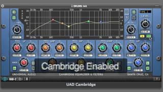 Cambridge EQ Plug-in for UAD-2