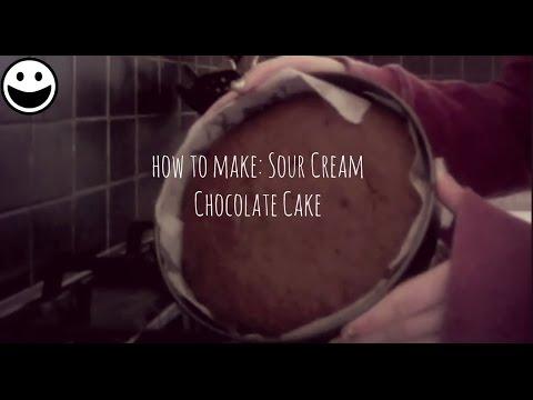 How To Make: Sour Cream Chocolate Cake
