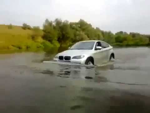 Bmw X6 Off Road Water Russia Youtube