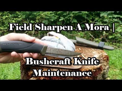 How to Field Sharpen a Mora Companion