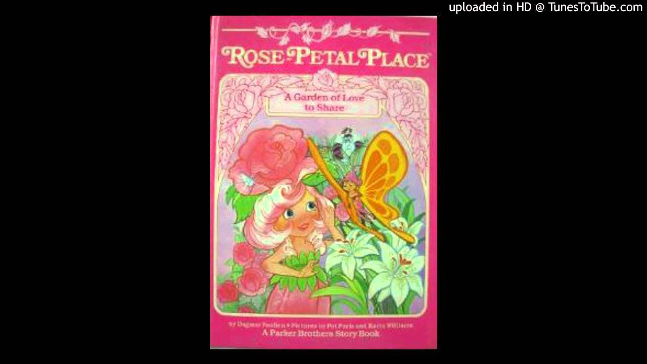 Rose Petal Place Book on Tape - A Garden of Love to Share ...