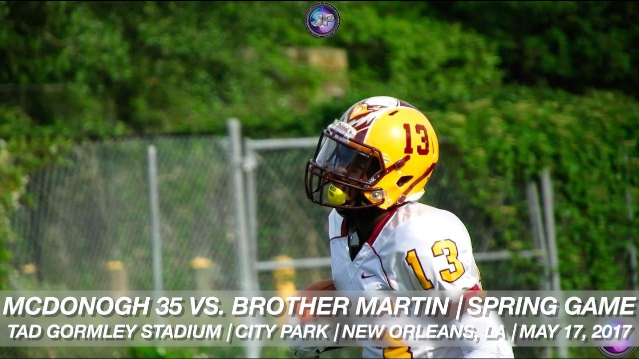 2016 17 Semifinalists Mcdonogh 35 4a Brother Martin Div I