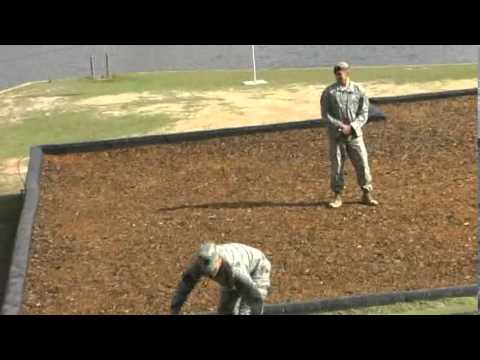 US Army Ranger Graduation - demonstration of weapons and tactics