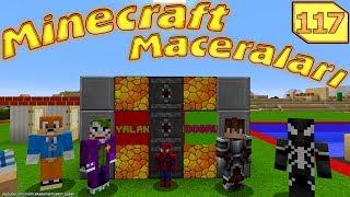 Örümcek Adam Minecraft'ta Yalan Makinesi Kullanıyor [Minecraft Maceraları 117]