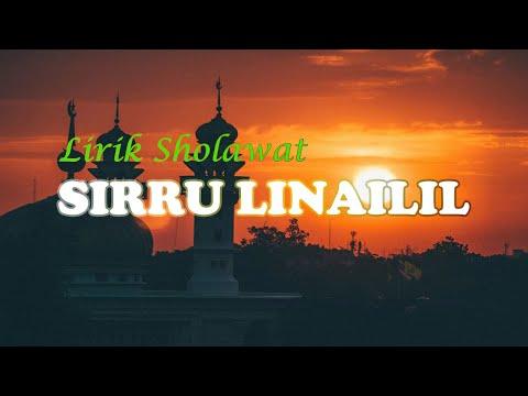 Lirik Siru Linailil Khoiri Jami'a Babul Musthofa