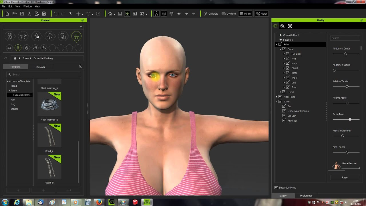 Iclone Character Creator Bundle Version Tutorial Deutsch