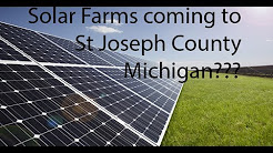 Solar Farms in Mendon and Nottawa???  |  Local News