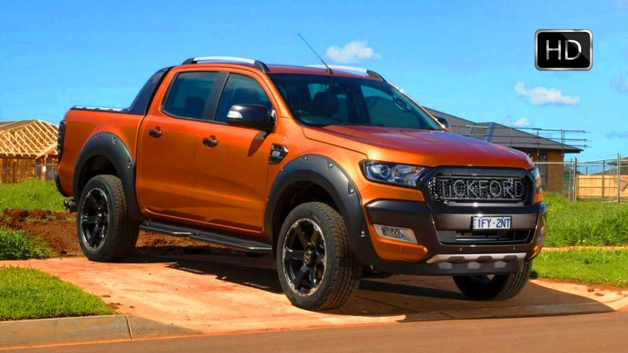 2017 Ford Ranger Wildtrak Tuned By Tickford Design Road Drive Hd