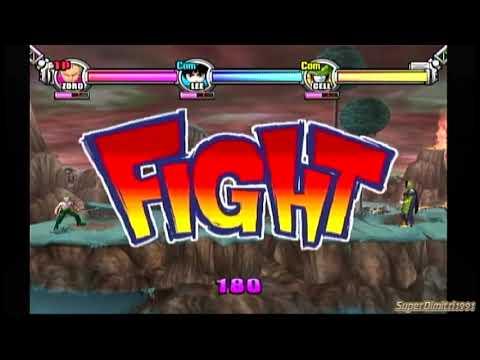 Battle Stadium D.O.N-Zoro Vs Rock Lee Vs Cell